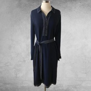 BODEN Scarlett Shirt Dress French Navy 10
